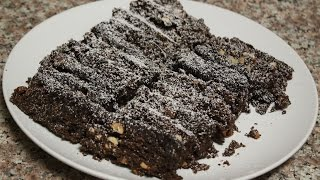 how to make brownies with microwave super easy!! (subtitulos en espanol)