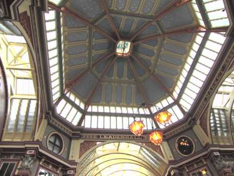 London. Leadenhall Market