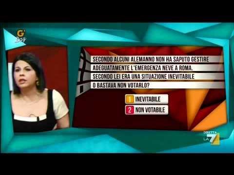 G'day – 06/02/2012 – La grandomanda con Daniele Pecci e Francesca Senette
