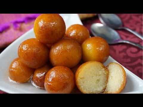 Gulab Jamun ( Easy Recipe )
