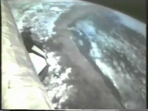 Настоящее видео НЛО в космосе