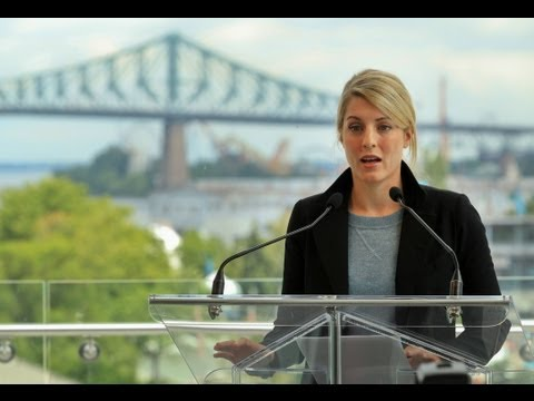 Mélanie Joly announces her candidacy for Mayor of Montreal