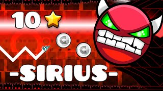 Geometry Dash (2.0) - -SIRIUS- by FunnyGame (DEMON)