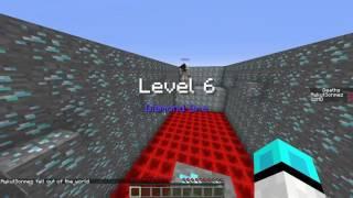 Minecraft Maden Parkuru - En Az Ölen Kazanır