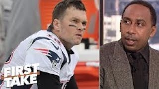 Patriots' Week 10 loss 'spells doom' for Super Bowl chances   Stephen A   First Take
