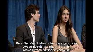 "The Vampire Diaries Cast at Paleyfest 2010 ""Compulsion"" [Altyazılı]"