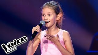 "Nina Kicińska - ""Naprawdę chcę"" - Blind Audition - The Voice Kids 2 Poland"