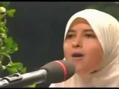 Wonderful Recitation Of Quran By Young Muslim Girl video