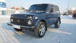 2009 Lada Niva 21214. Start Up, Engine, and In Depth Tour.