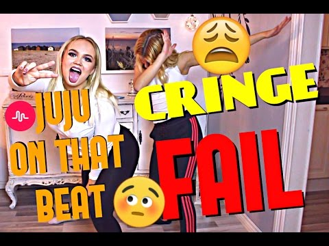 JUJU ON THAT BEAT DANCE FAIL!!! | Bella lär mig musical.ly #8
