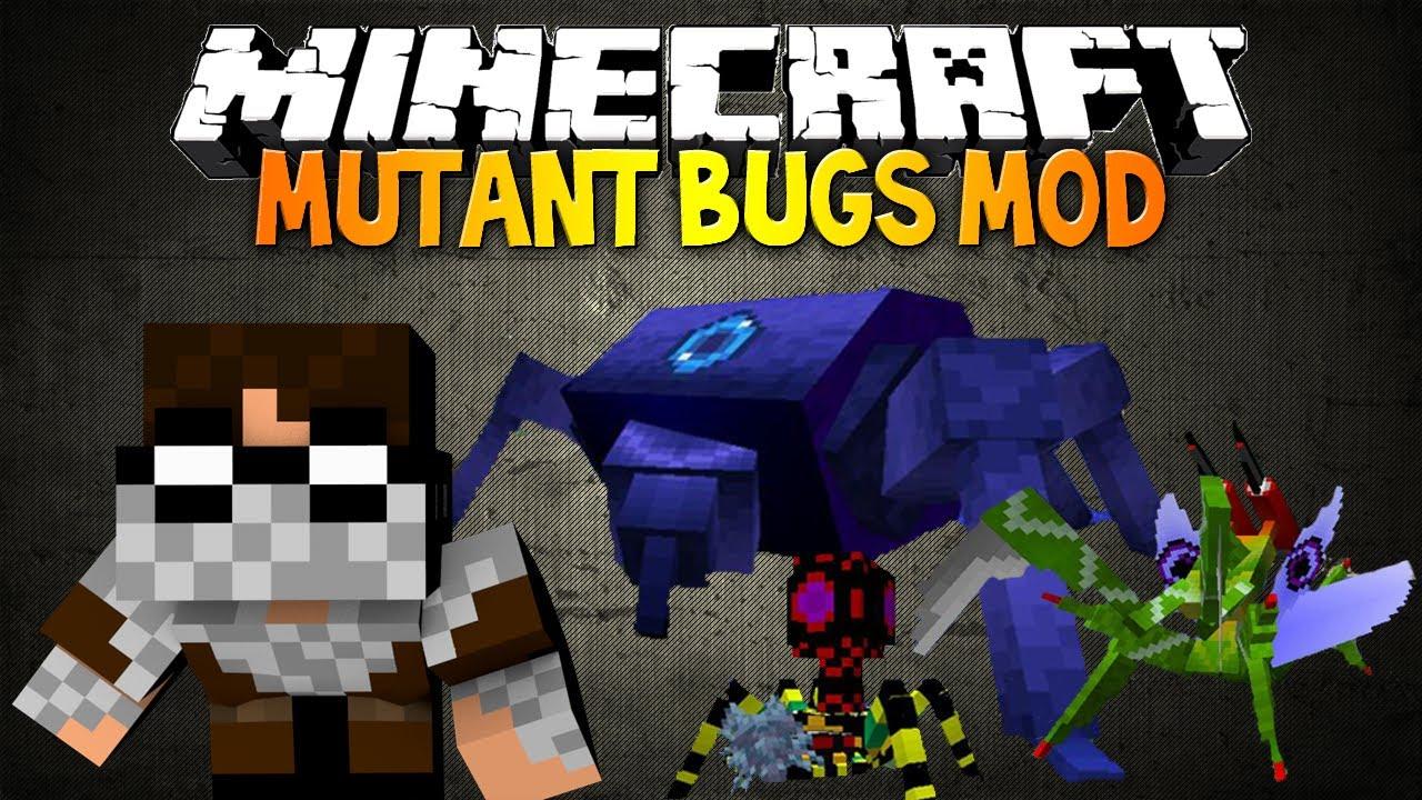 Minecraft Mutant Bugs Mod