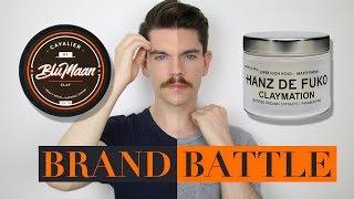 Blumaan Cavalier Clay vs. Hanz De Fuko Claymation | Brand Battle