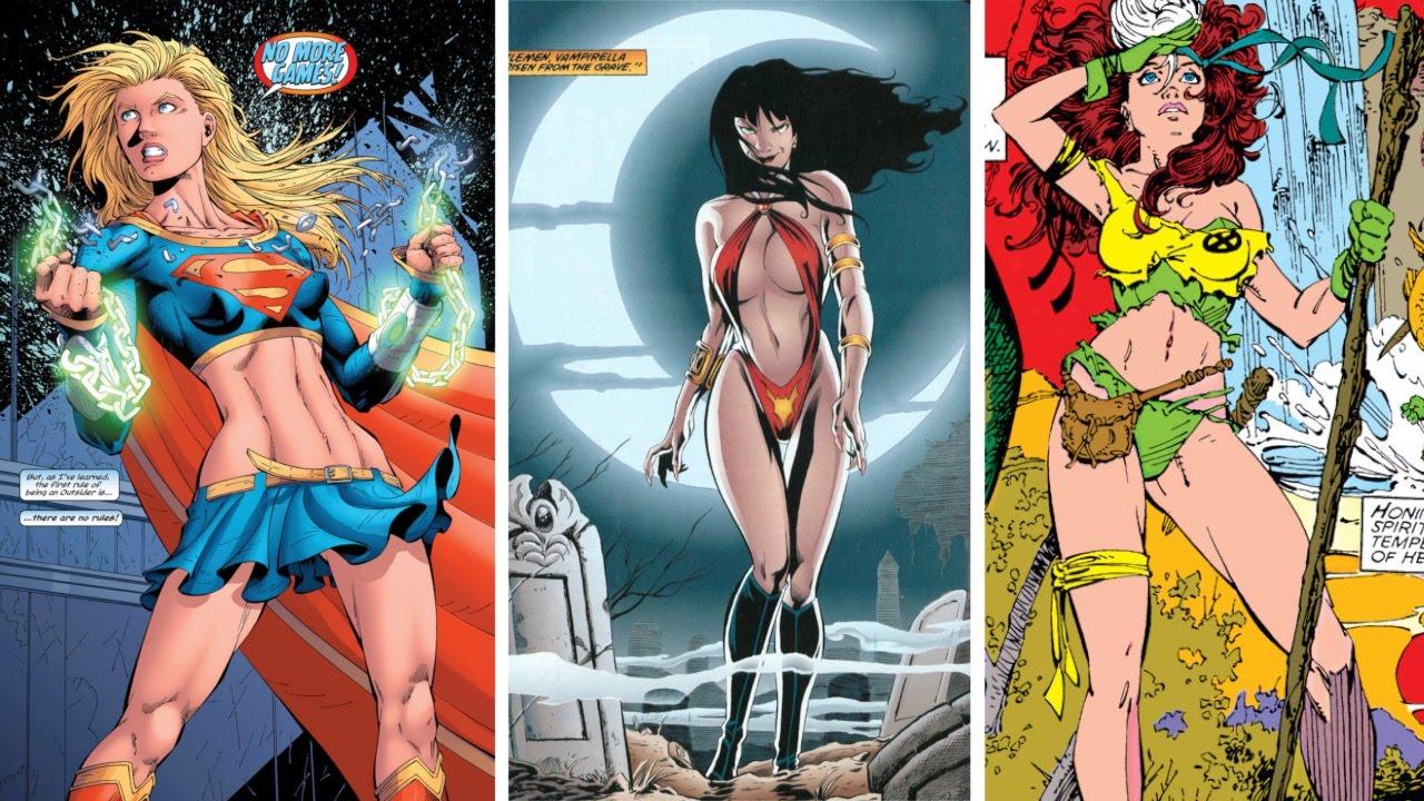 Сексуальные супер героини комиксы