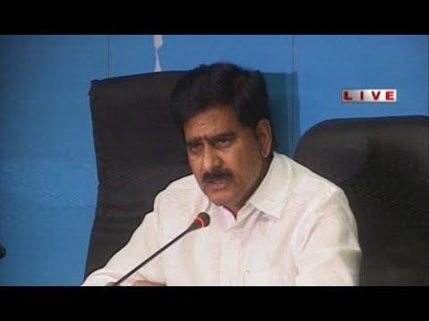 Devineni Uma Press Meet on 'Neeru Chettu' Programme