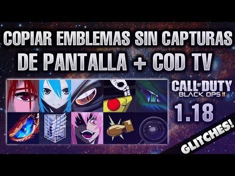 BLACK OPS 2 [1.18] COMO COPIAR EMBLEMAS DE CODTV Y SIN CAPTURA DE PANTALLA [FUNCIONA 2014]