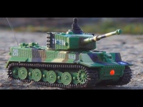 RC Battle Tank 1:72, танк на радиоуправлении