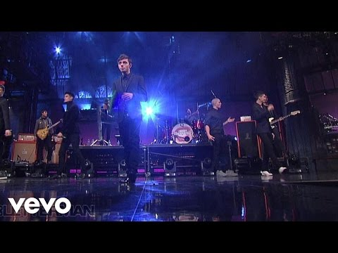 The Wanted - Show Me Love (Live @ Letterman, 2013)