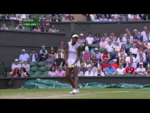 Wimbledon 2014, Ladies' Singles, 3rd Round, Kvitova vs V Williams