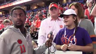TigerNet.com - Shadell Bell interviews fans