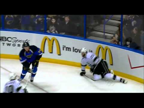 T.J. Oshie destroys Dustin Penner. April 30th 2012