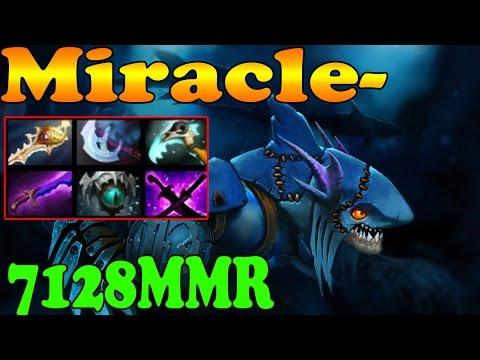 Dota 2 - Miracle- 7128 MMR Plays Slark Vol 5# - Ranked Match Gameplay!