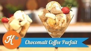 Resep Chocomalt Coffee Parfait