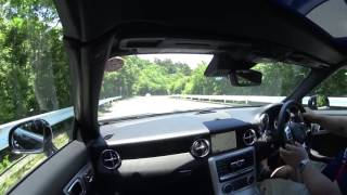 【試乗】【復路】MercedesBenz SLK(SLC)AMGsports package in Hakone
