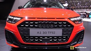2019 Audi A1 30 TFSI - Exterior and Interior Walkaround - Debut at 2018 Paris Motor Show