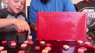 GIANT CANDY STARBURST DIY 60,000 CALORIES!!