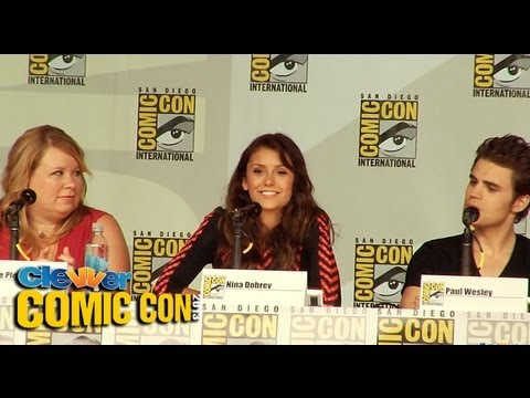 The Vampire Diaries Panel Comic-Con 2013: Paul Wesley, Ian Somerhalder, Nina Dobrev