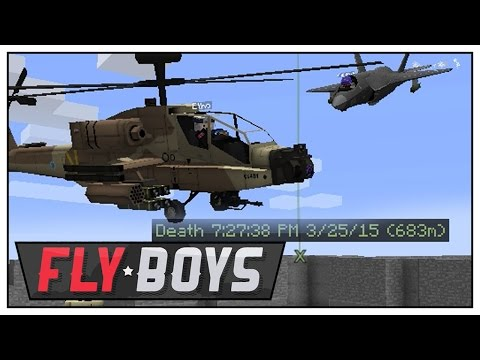 Minecraft Mods FlyBoys - Etho Gas & Go and Cubulous Aircraft Carrier! - Episode 49