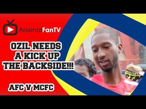 Ozil Needs A Kick Up The Backside !!! - Arsenal 2 Manchester City 2