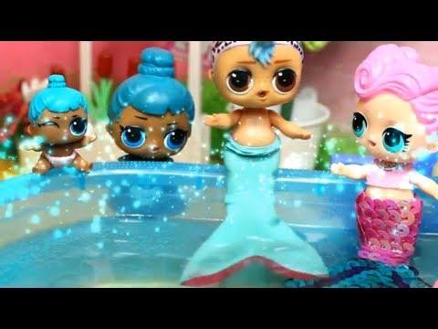 Почему ПАНКИ РУСАЛКА? Куклы лол. Мультик про куклы LOL SURPRISE. MC Family