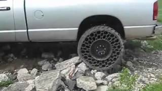 New Tire Technology Used on a Pick Up Truck