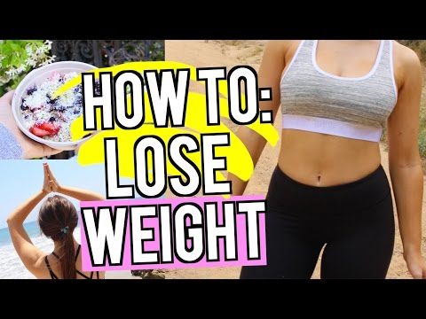 HOW TO LOSE WEIGHT FAST! Fun Fitness Routines! | Kenzie Elizabeth