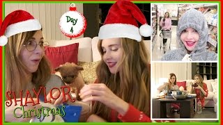 Shaylor Christmas Sleepover Day 1 | Vlogmas 4