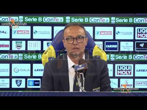 """FROSINONE - CARPI 0-1 Pasquale Marino: """"Mi sono dimesso""""."""