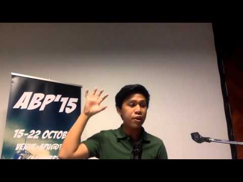 Asia Pacific ABP 2015: Demo Debate for Adjudication Test