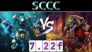 Sccc [Tinker] vs [Sniper] ► CN Ranked ► Dota 2 7.22f