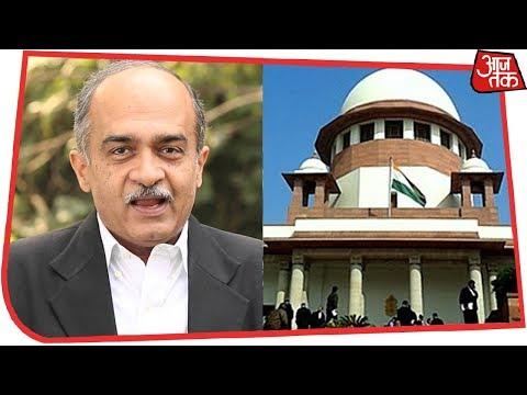 SC ने Prashant Bhushan से कहा, कोर्ट में उतना ही बोलें जितना ज़रूरी हो | Rafale Hearing Live