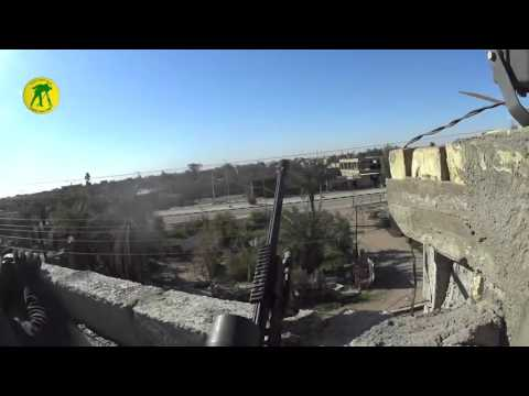 Iraqi Golden Division Sniper team targeting ISIS in Ramadi