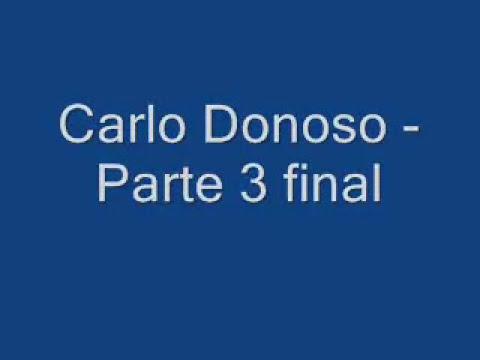 Carlos Donoso parte no 3