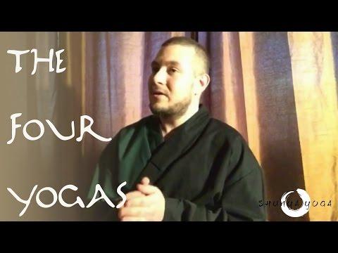 The Four Yogas (Jnana Yoga, Bhakti Yoga, Karma Yoga, Raja Yoga)