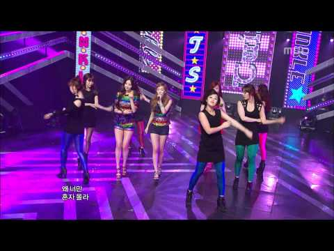 Girls' Generation TTS - Twinkle, 소녀시대 태티서 - 트윙클, Music Core 20120512