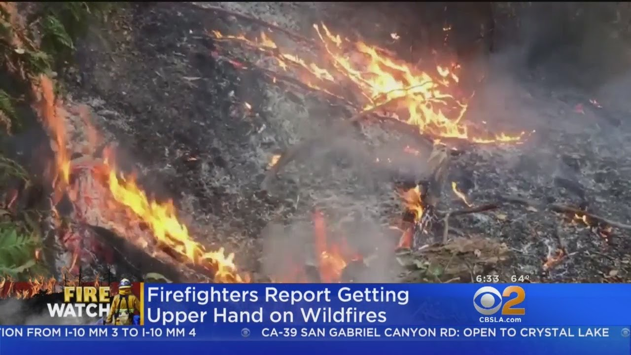 Forecast Rain Welcomes As Wine Country Wildfires Continue To Burn