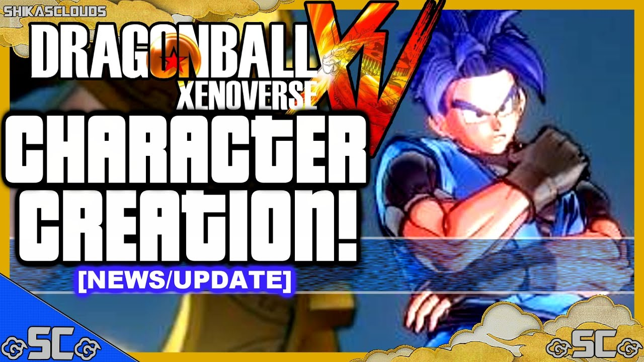 News/Update - Character Creation Confirmed! | DRAGON BALL XENOVERSE ...: www.youtube.com/watch?v=cqi2OdgyjPI