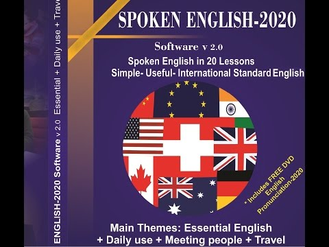 The Best English Pronunciation. Spoken English-2020 (gesprochenes Englisch - 2020) video