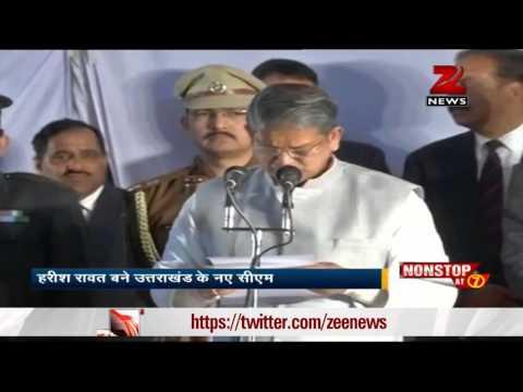Harish Rawat sworn in Uttarakhand Chief Minister