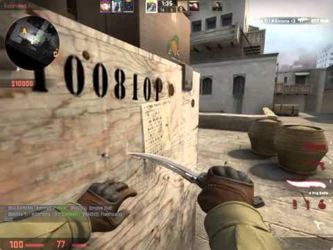 CS:GO - Шумката е нинджа