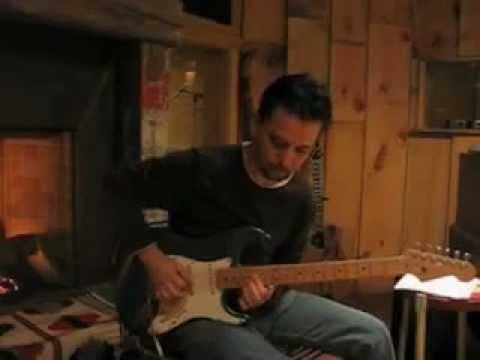 Marty Williamson recording a solo for Ona Mae